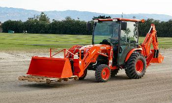 Kubota BX, B, L, M and TLB series tractors for sale