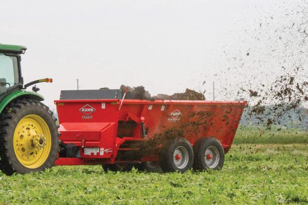 Kuhn Knight | SL 100 Series | Model SL 110 Orchard Trailer for sale at Western Implement