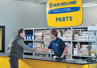 We work hard to provide you with an array of products. That's why we offer New Holland for your convenience.