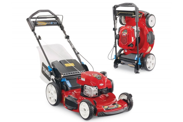 "Toro | Recycler® Self-Propel Mowers | Model 22"" SMARTSTOW® Personal Pace® High Wheel Mower (20340) for sale at Western Implement, Colorado"