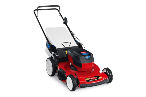 "Toro | Battery Mowers | Model 22""  60V MAX* SMARTSTOW® High Wheel Push Mower (20361) for sale at Western Implement"