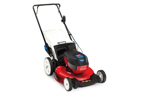 "Toro | Battery Mowers | Model 21"" (53cm) 60V MAX* SMARTSTOW® High Wheel Push Mower (20367) for sale at Western Implement"