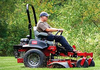 We work hard to provide you with an array of products. That's why we offer Toro for your convenience.