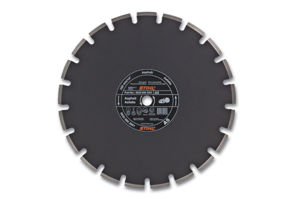 Stihl D-A 05 Diamond Wheel for Asphalt - Economy Grade for sale at Western Implement