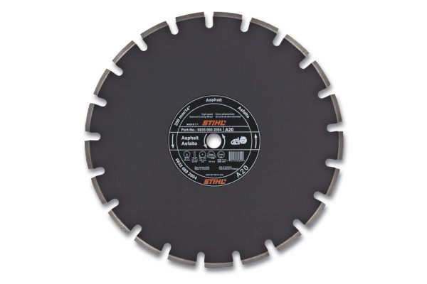 Stihl | Diamond Wheels | Model D-A 20 Diamond Wheel for Asphalt - Quality Grade for sale at Western Implement, Colorado