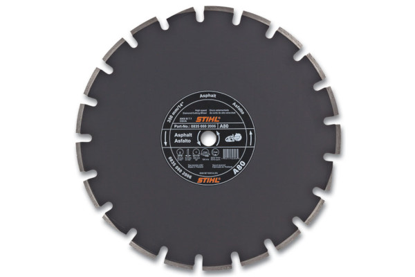 Stihl | Diamond Wheels | Model D-A80 Diamond Wheel - Premium Grade for sale at Western Implement, Colorado