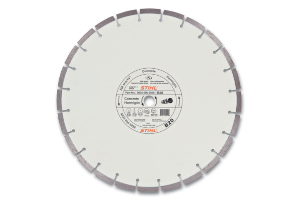 Stihl | Diamond Wheels | Model D-B20 Diamond Wheel - Quality Grade for sale at Western Implement, Colorado